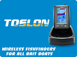 FIshfinders for Bait Boats